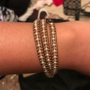 Brand new with tag and bag, chan luu wrap bracelet